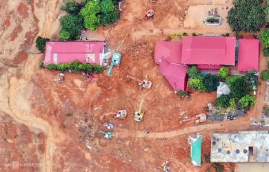 Đã tìm thấy thi thể 22 cán bộ, chiến sĩ bị vùi lấp ở Quảng Trị