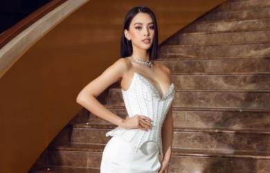 Hoa hậu đua nhau diện váy xẻ sâu khoe vòng 1 gợi cảm