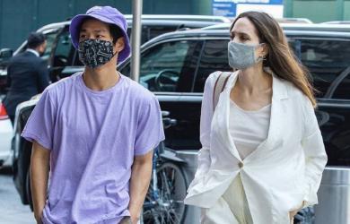 Angelina Jolie đánh lẻ đi ăn với con trai gốc Việt sau khi bị bắt gặp tới nhà chồng cũ