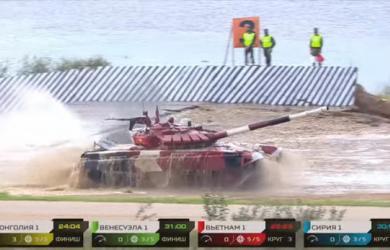 Tank Biathlon 2021: Đội xe tăng Việt Nam lột xác, ra quân thi đấu xuất sắc